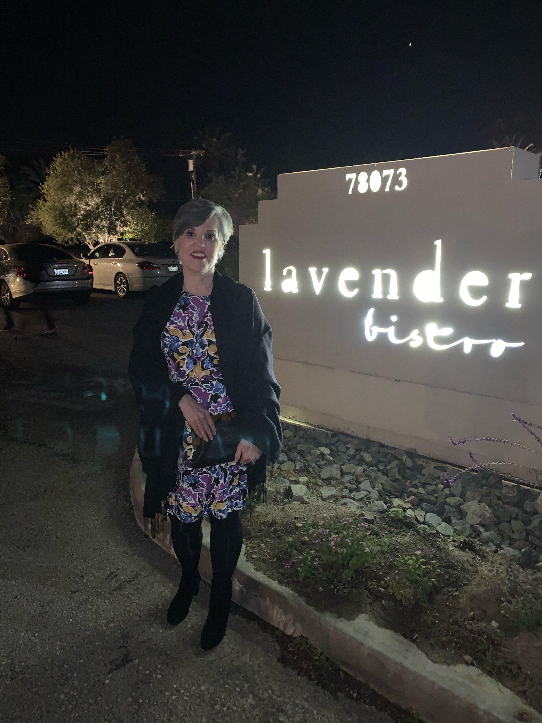 Dinner at Lavender Bistro