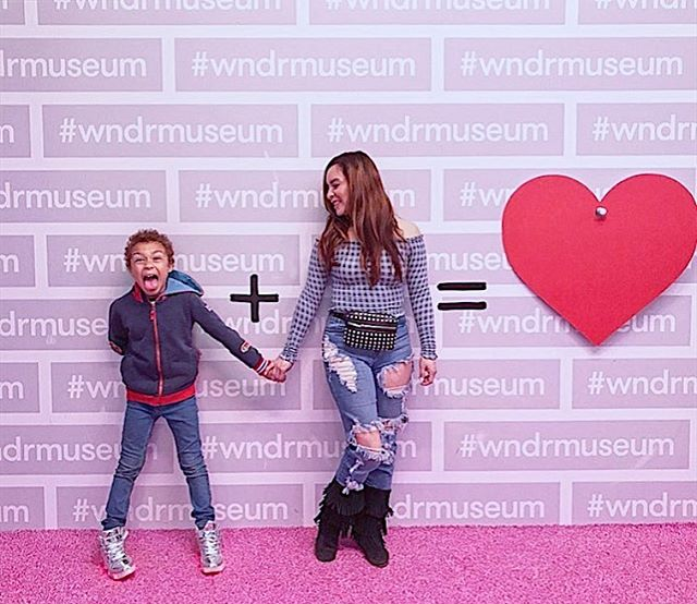 Moms are wndrful. 💕 Happy Mother's Day to all the moms and motherly figures out there, today and every day! 📸: @blancaviles  #wndrmuseum