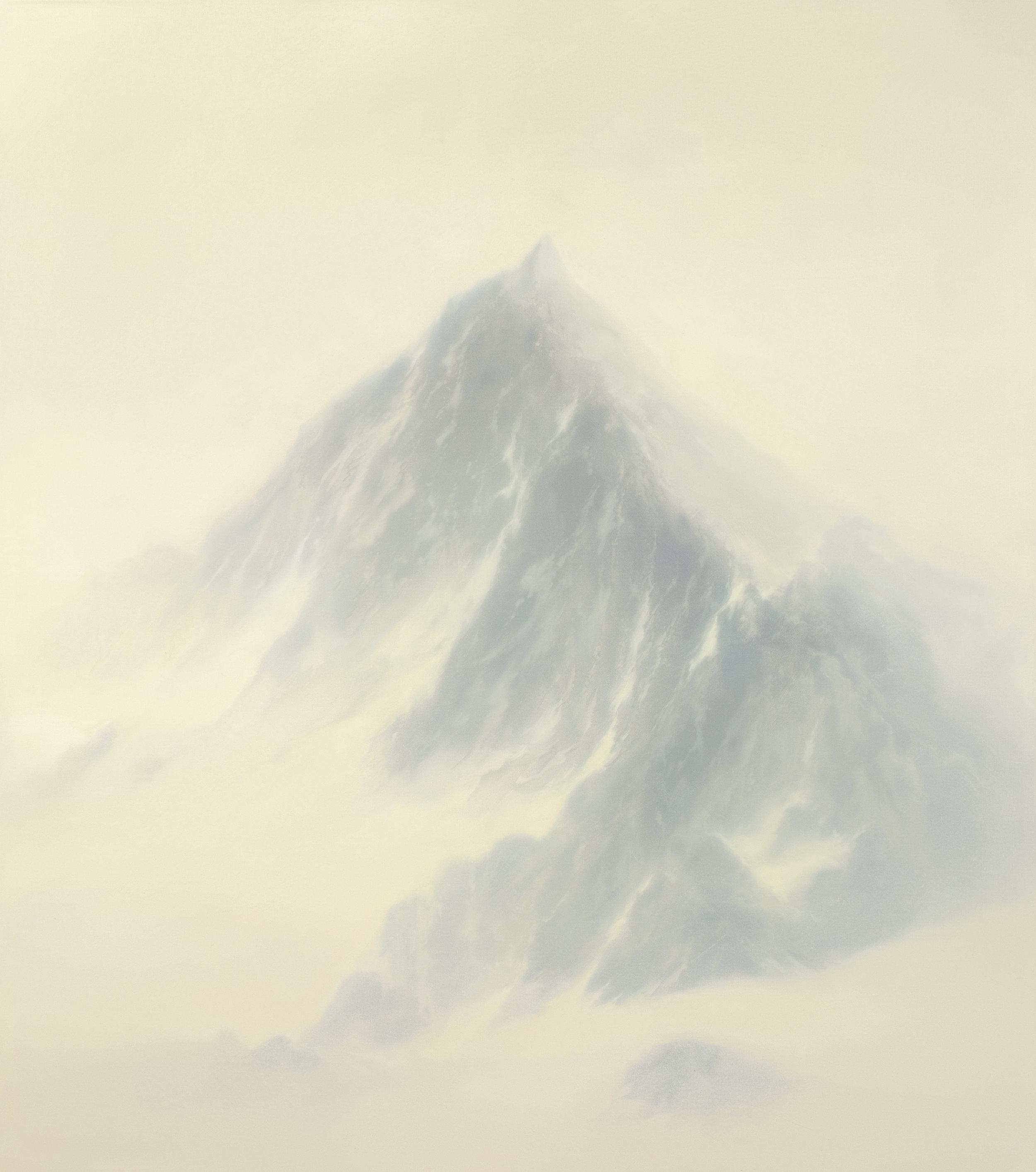Exposure  2018  Oil on canvas; 135 x 120 cm