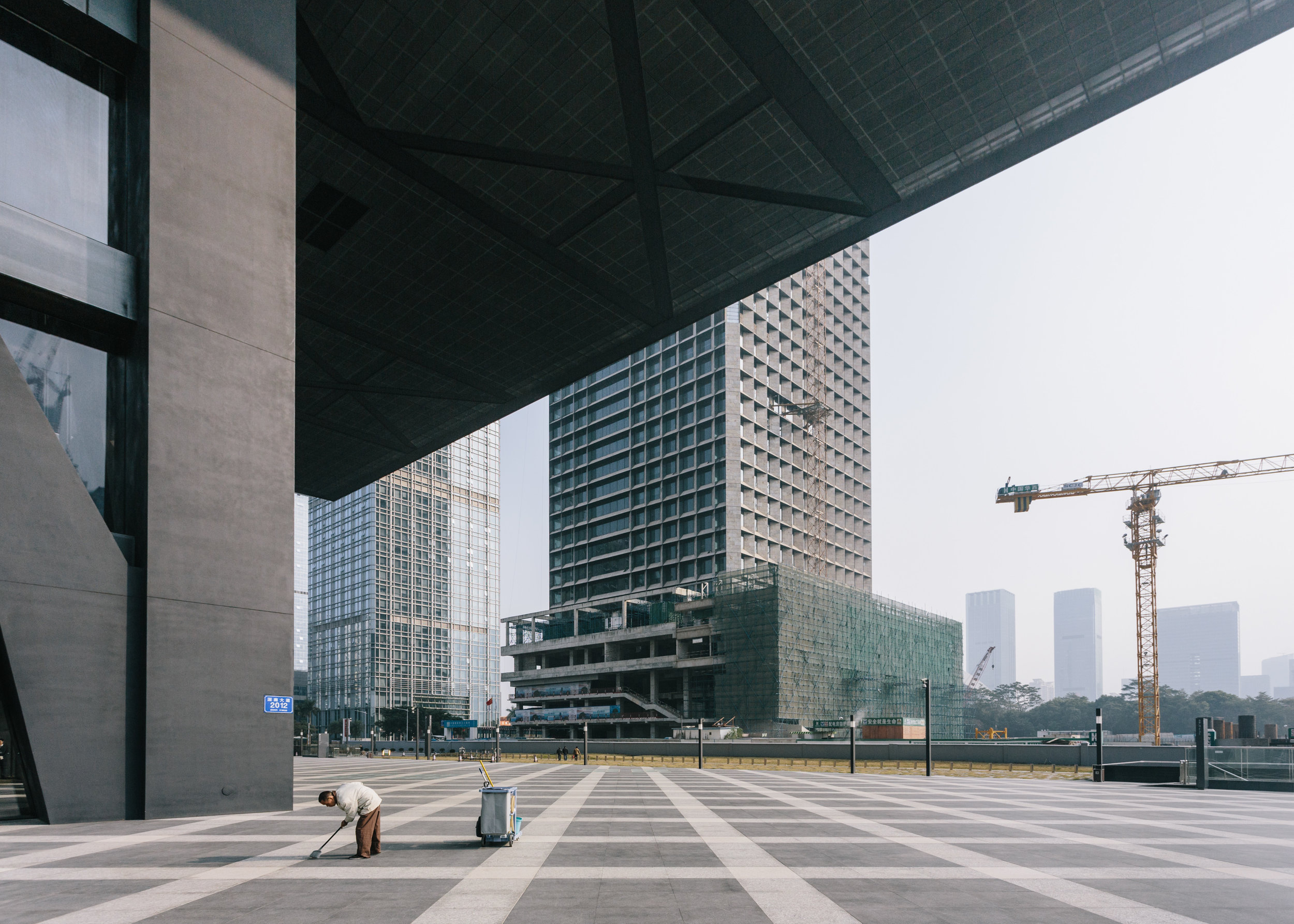 Shenzhen Stock Exchange I    (from  Serial Narratives ) 2015  C-type print; 114 x 160 cm (Edition of 4) or 86 x 120 cm (Edition of 7)