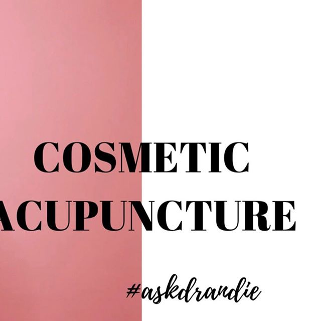 The #easternmedicine approach to #antiaging #beauty and #wellness.. Check out my new #YouTube video to find out the difference between #cosmeticacupuncture and #botox.. 💕 #askdrandie