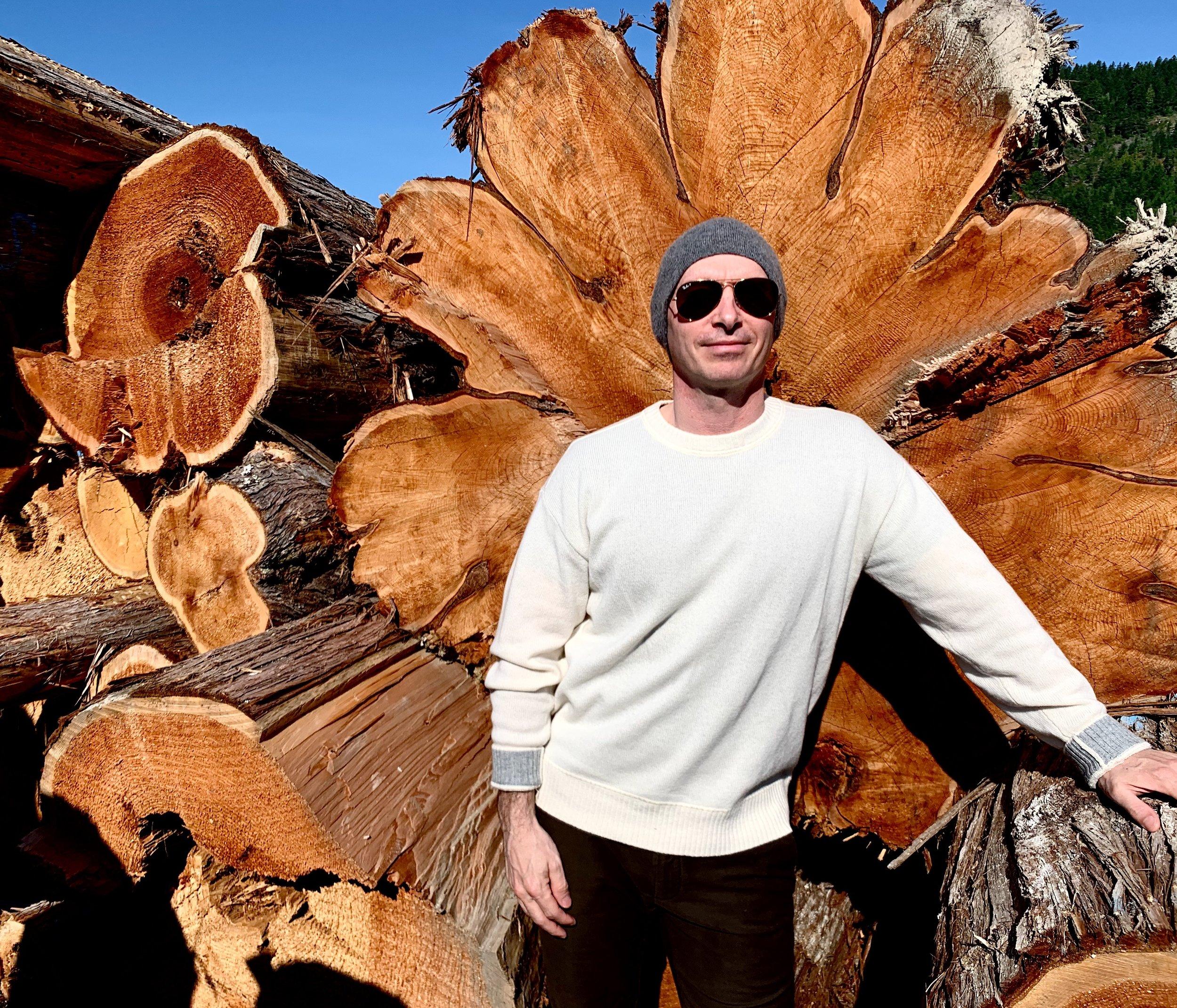 Simon Hirsh, Hirsh Log Homes