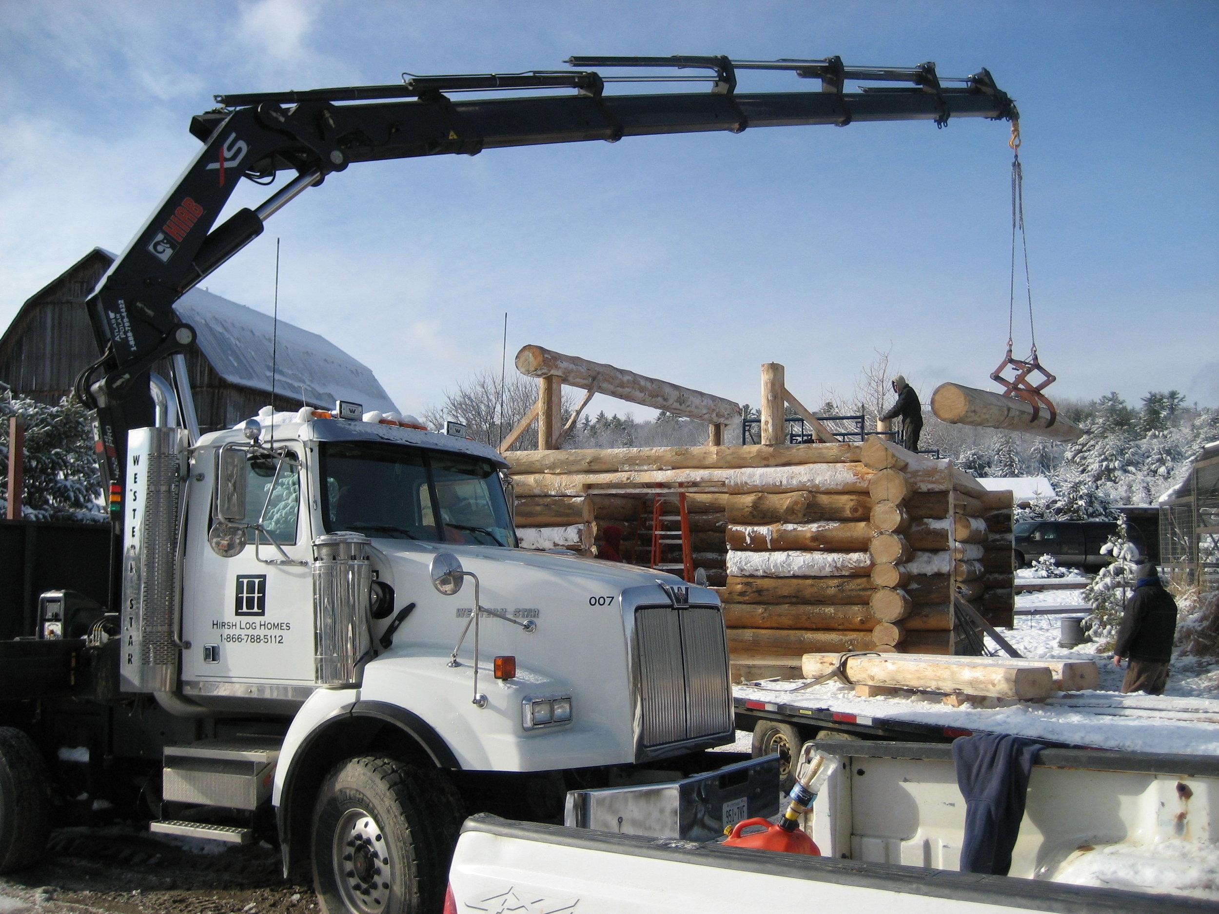 Hirsh Log Homes