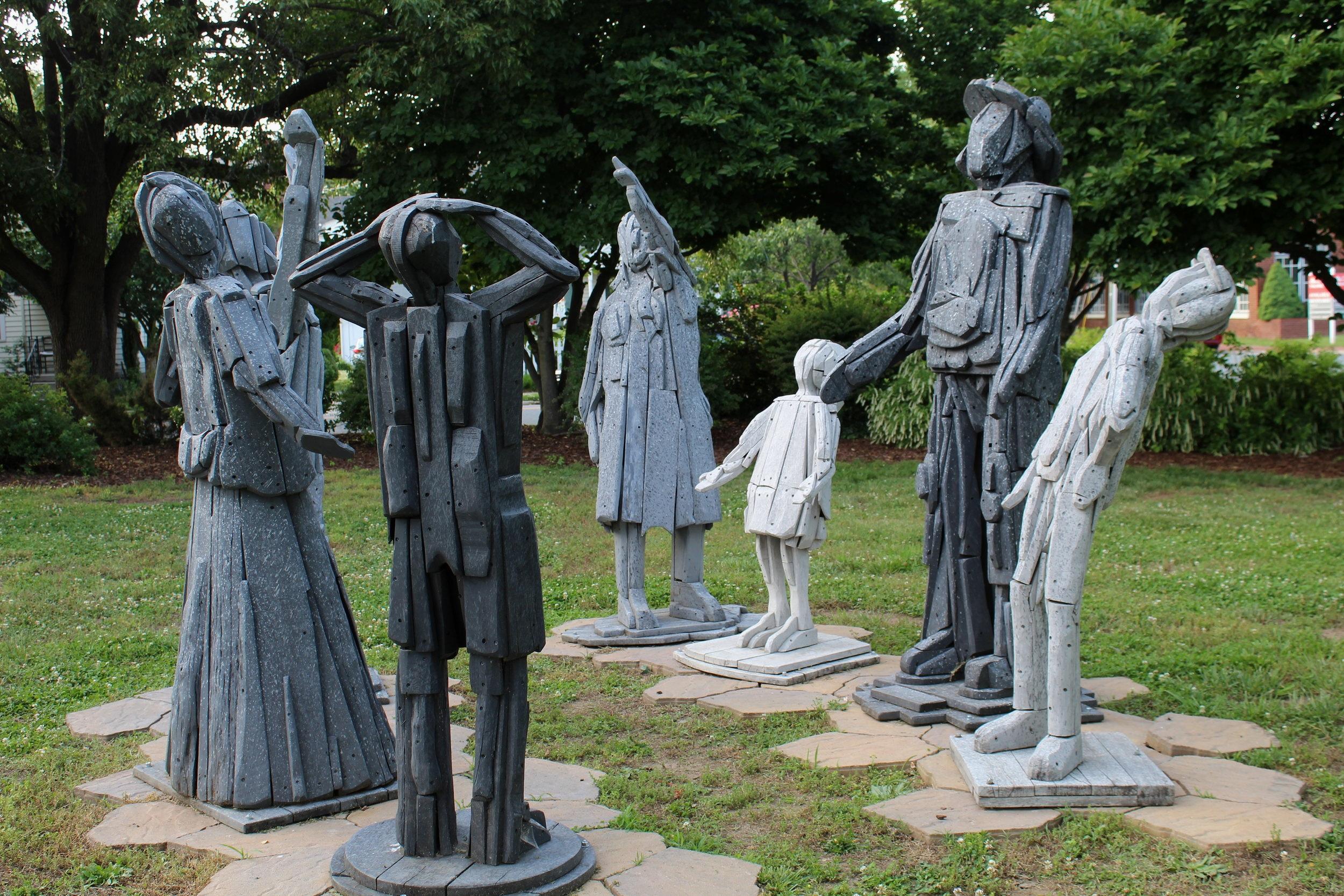 Statues created by FredArts.com