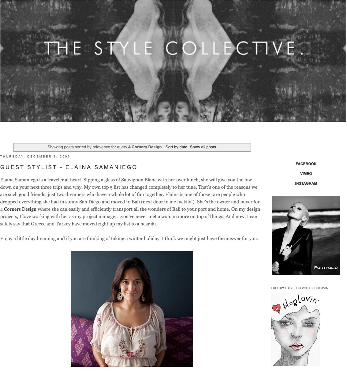 GUEST STYLIST: ELAINA SAMANIEGO - THE STYLE COLLECTIVE