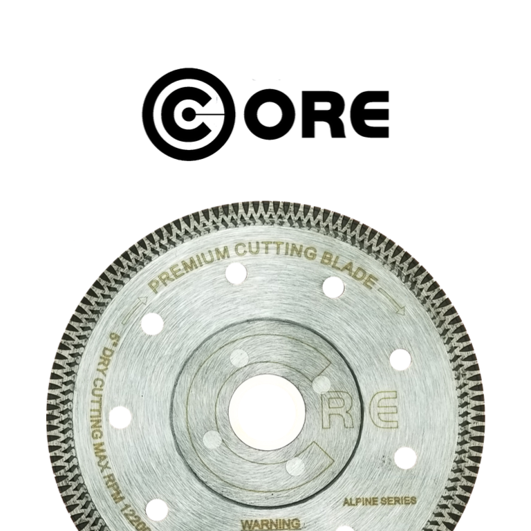 cutting edge innovation ™ - CORE DIAMOND ABRASIVES WAS FOUNDED IN 2013, AND HAS BECOME ONE OF THE MOST RECOGNIZABLE DIAMOND ABRASIVES BRANDS IN NORTH AMERICA.AT CORE, OUR FOCUS IS TO INTRODUCE OUR CUSTOMERS TO WORLD CLASS DIAMOND BLADES, AND TO DEVELOP INDUSTRY CHANGING TECHNOLOGIES THAT WILL KEEP OUR BRAND LOYAL CUSTOMERS AHEAD OF THE CURVE.