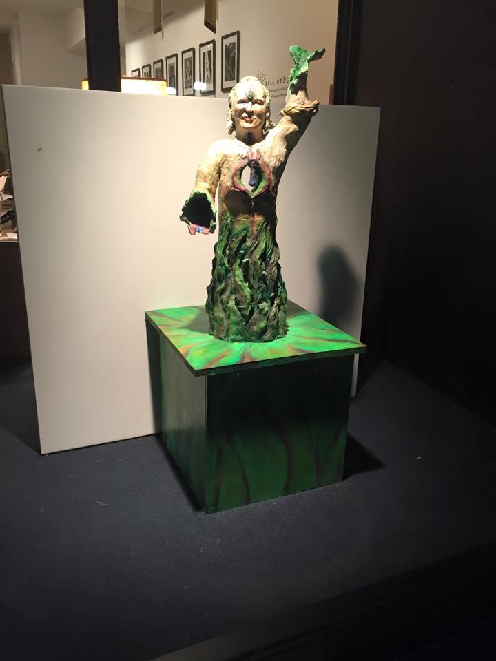 the_teacher-sybil-archibald-sculpture-painting-AU.jpg