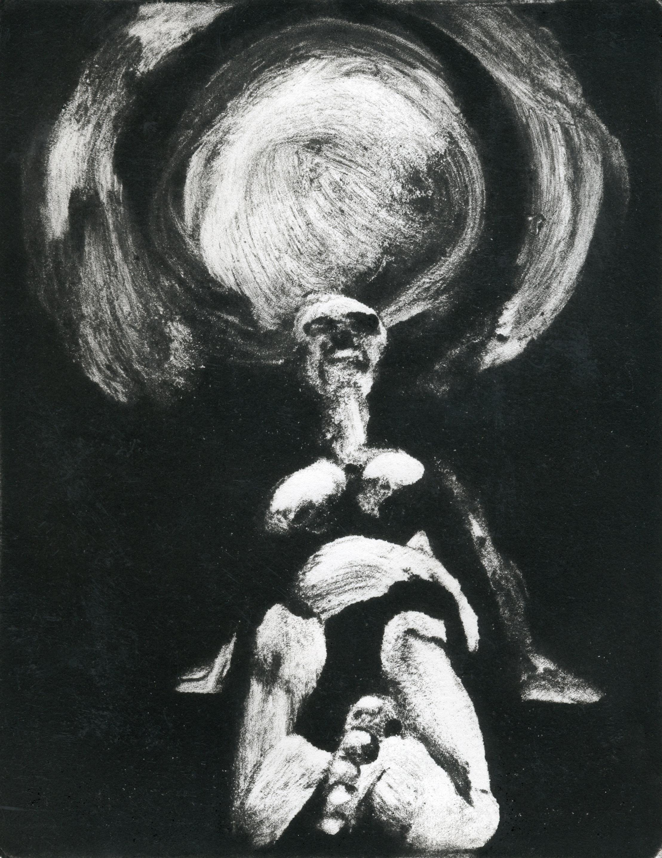 the artist waits