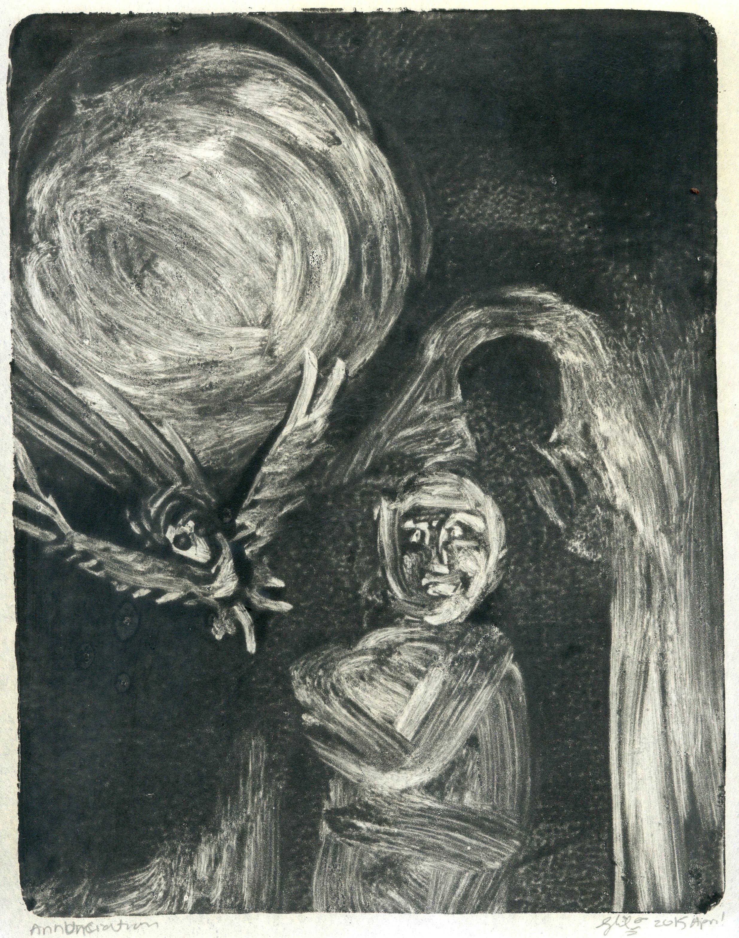 the artist's annunciation
