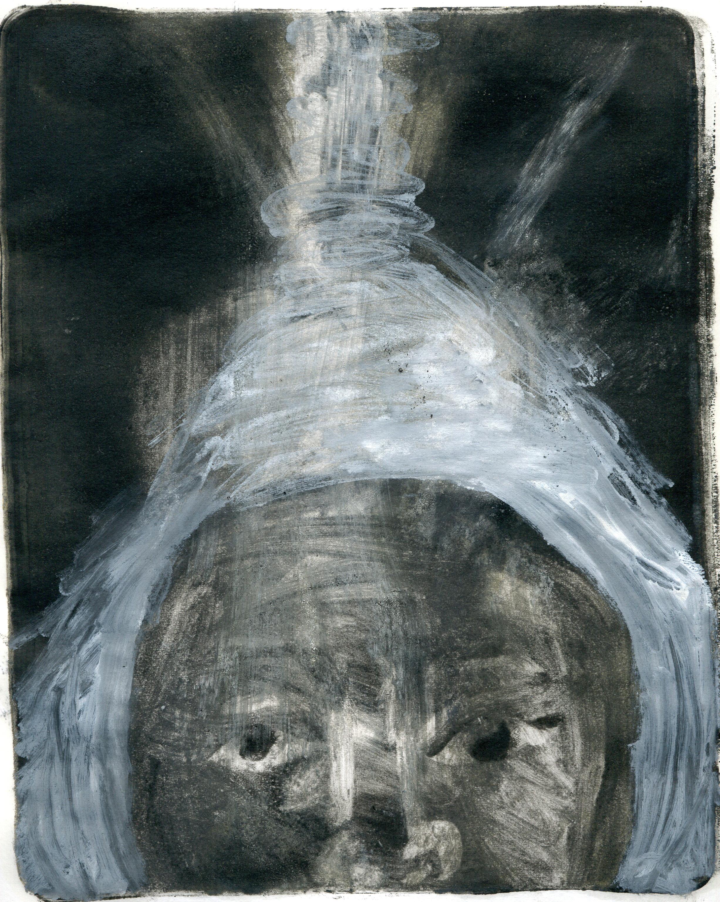 the artist cogitates