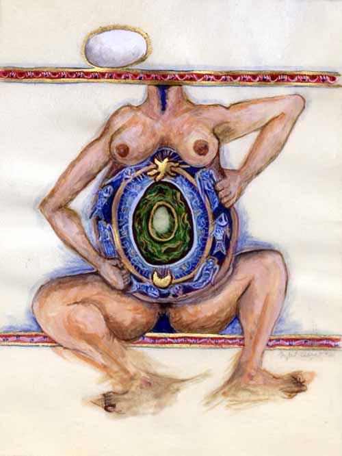 Alchemist Series Paintings