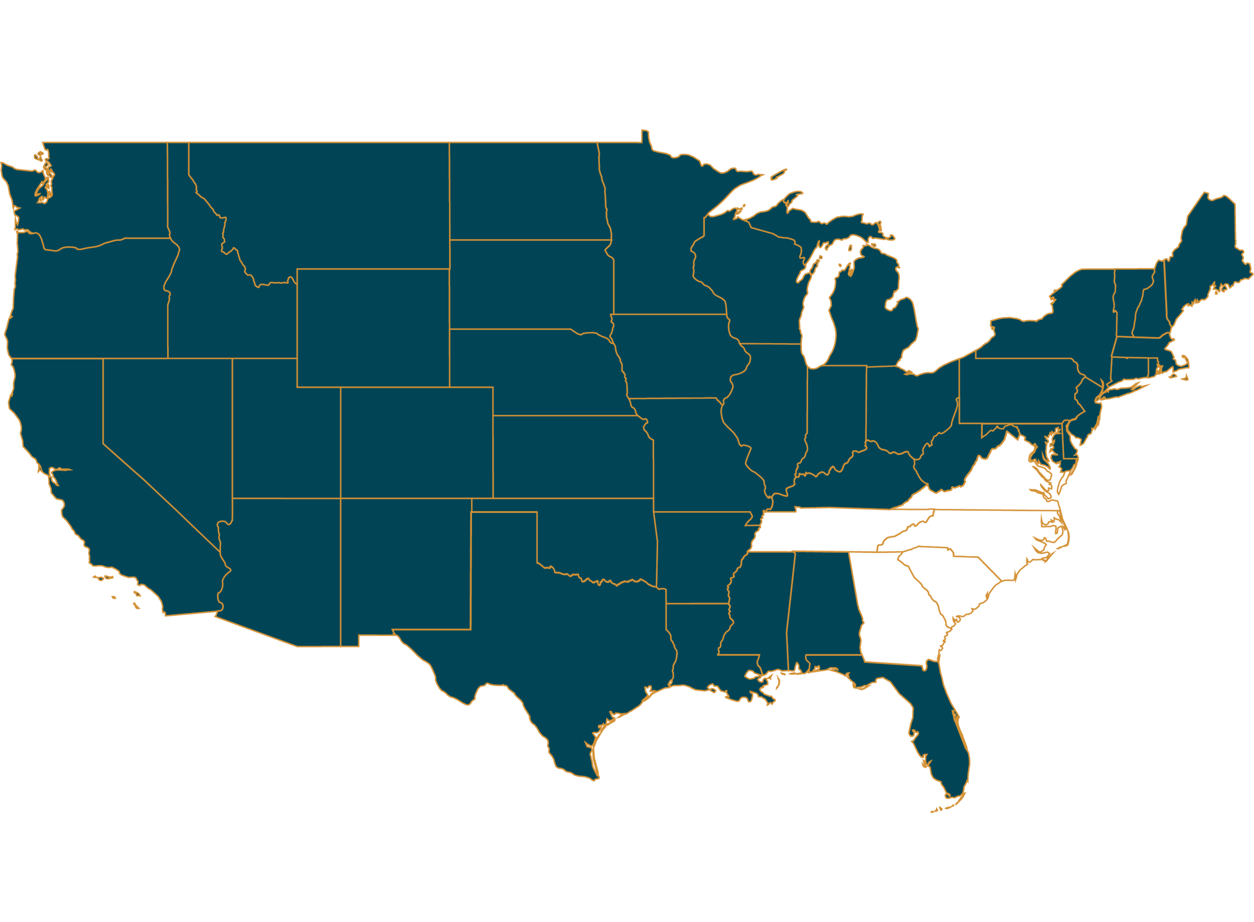 LOCATIONS - Standard Title provides direct underwriting for commercial title insurance services in North Carolina, South Carolina, Georgia, Tennessee and Virginia, underwritten by some of the most widely known and financially secure title insurers in the country: First American Title Insurance Company, Stewart Title Guaranty Company, WFG National Title Company and North American Title Insurance Company. In addition, Standard Title provides escrow, settlement and disbursement and 1031 exchange services nationally, so you always have a trusted partner, no matter where your transaction occurs.