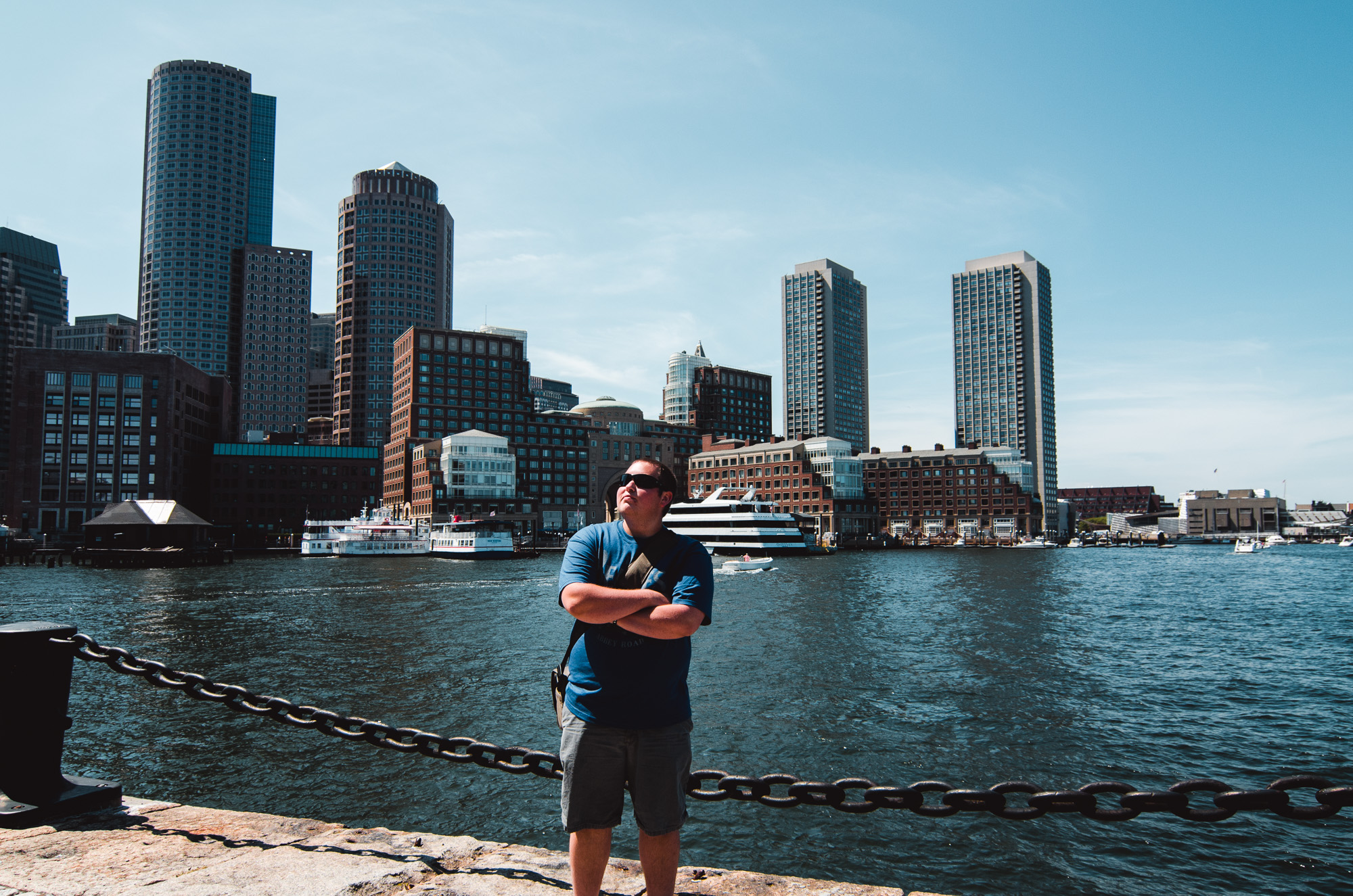 Me back in 2012 when I visited Boston, before I lost 100 pounds. Photo taken by my Mom :)