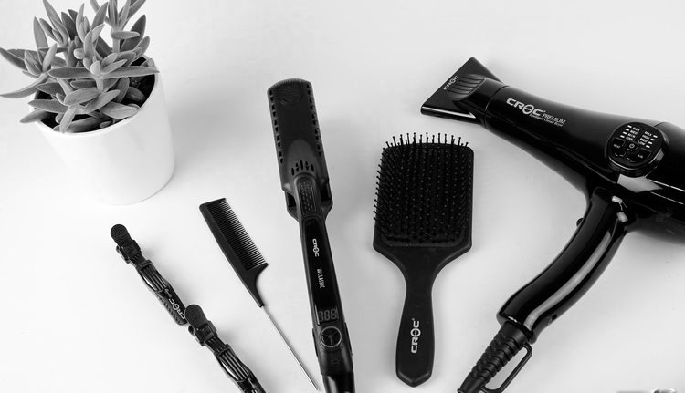 Image of hair tools