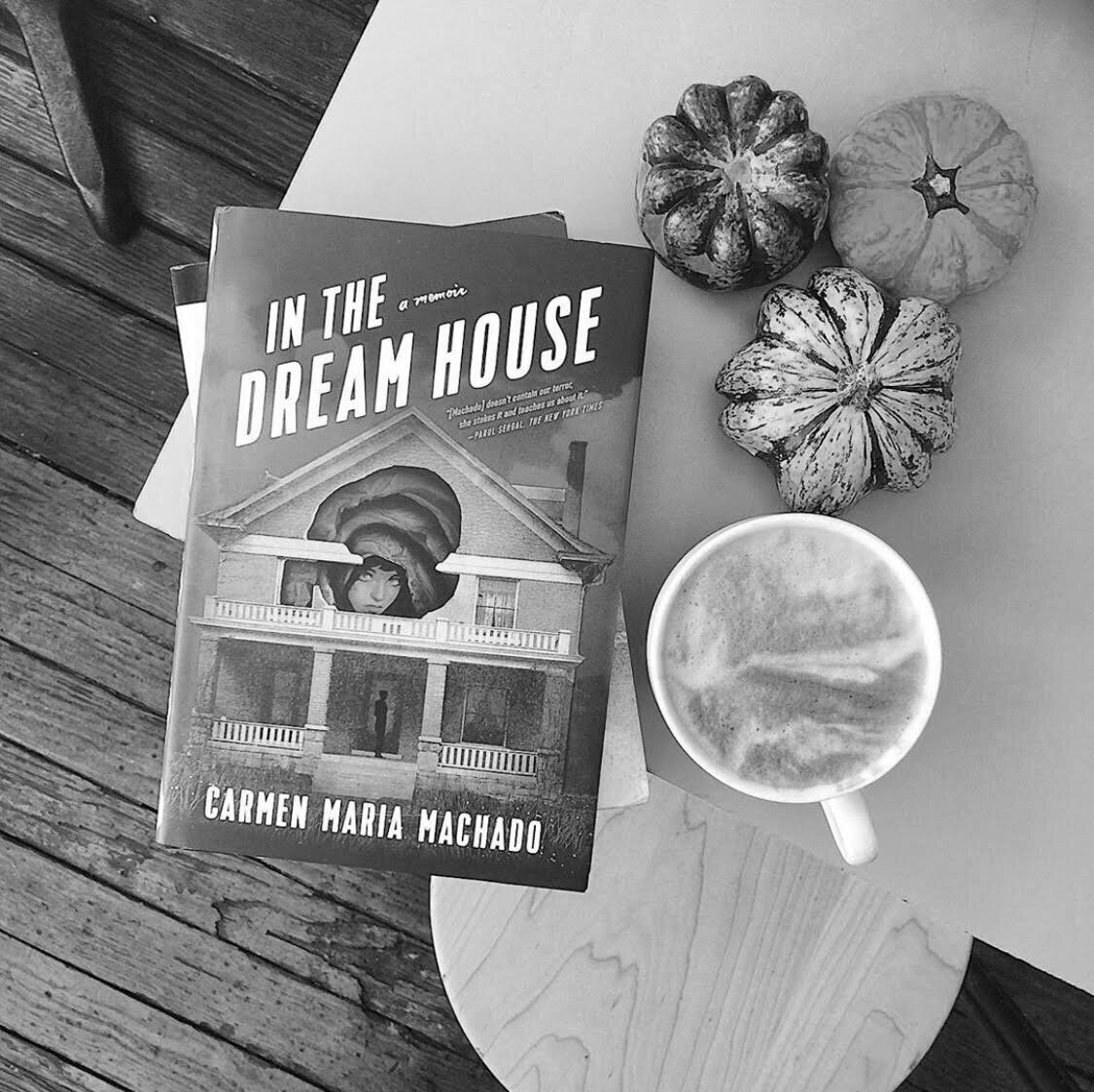 image of the book In The Dream House on a table
