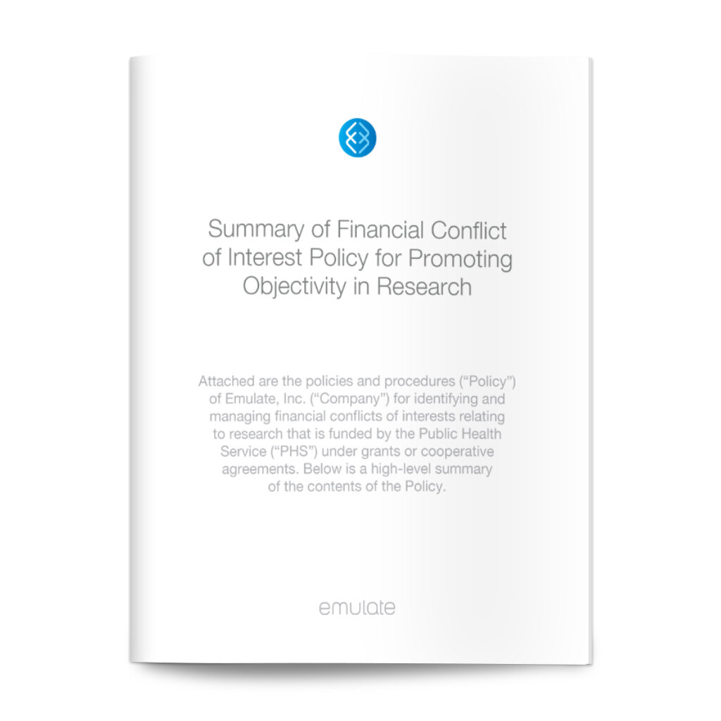 Financial Conflict of Interest Policy for Promoting Objectivity in Research - Last updated: May 23, 2018