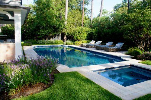 Pool designed by Lanson B. Jones & Co.