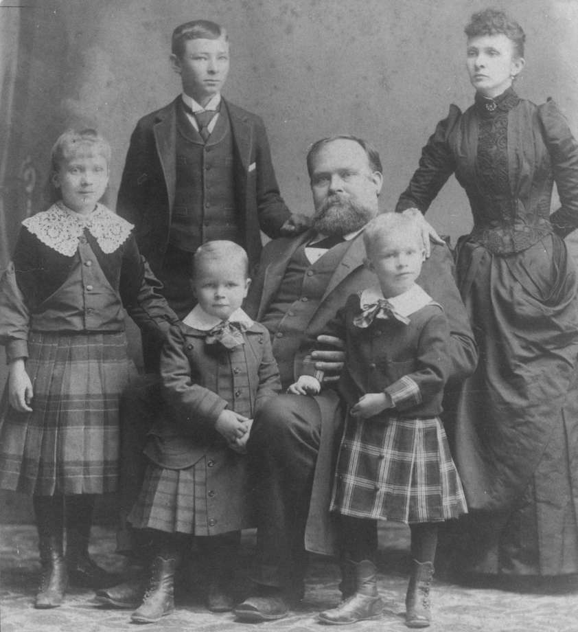 A Hogg family portrait from 1891