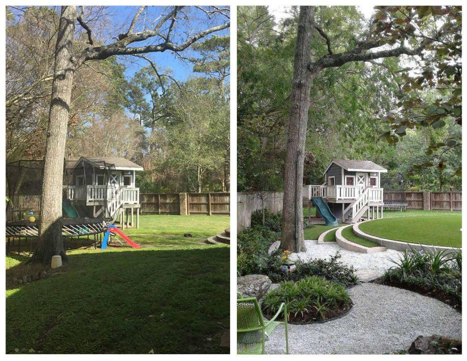 Family-Friendly Landscape Design by Lanson B. Jones & Co. in Friendswood, TX