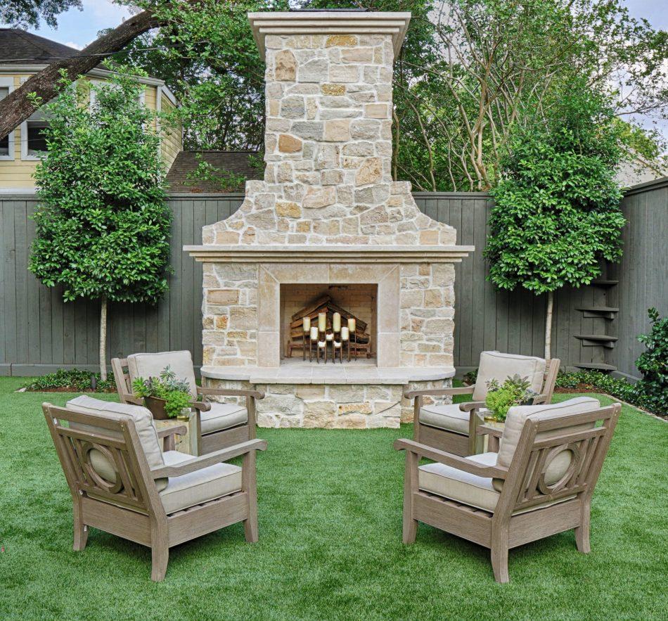 Family-Friendly Landscape Design by Lanson B. Jones & Co. in West University Place, Houston