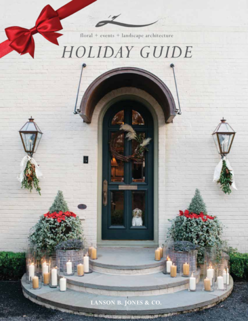 2016 Landscaping and Floral Design Holiday Guide