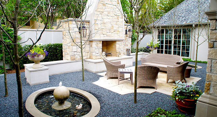 FRENCH COURTYARD GARDENS -