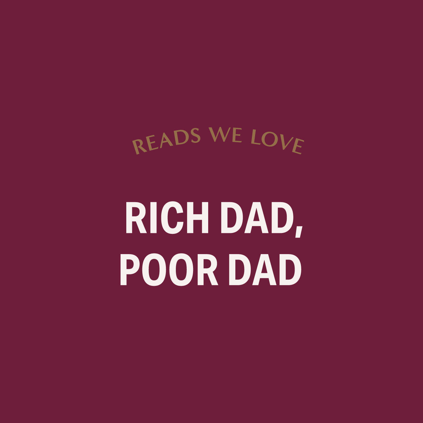 - One of the most critically acclaimed books on wealth. We love it because it focuses on mindset and details how our mind is our biggest financial asset.