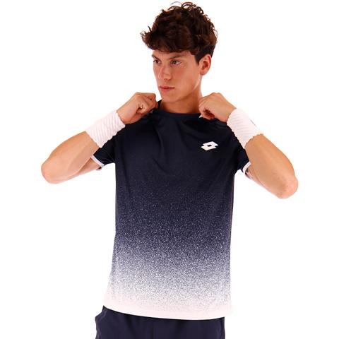 Tennis Tech Tee - Navy Blue - Brilliant White.jpg