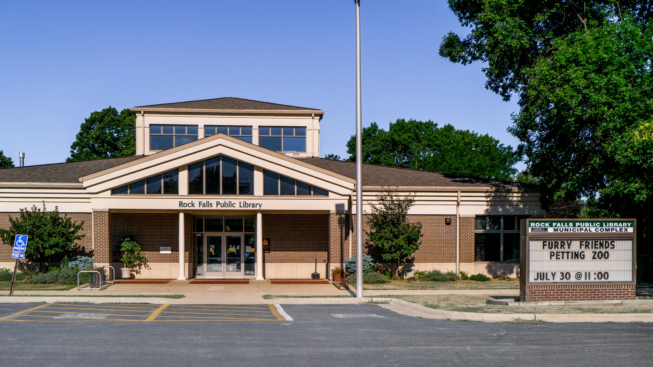 The Rock Falls Public Library - Rock Falls IL