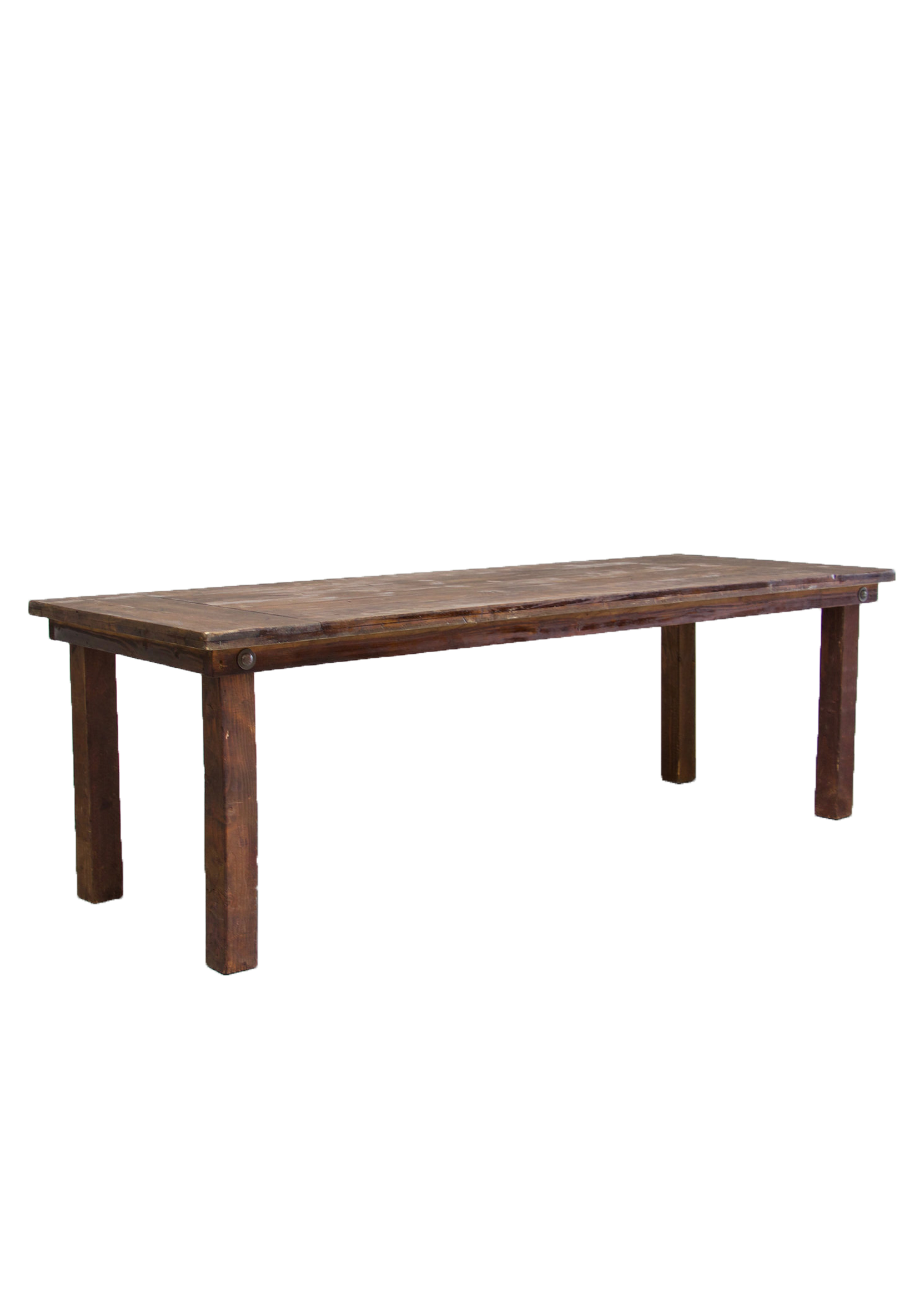 Mahogany 8ft Farm Table