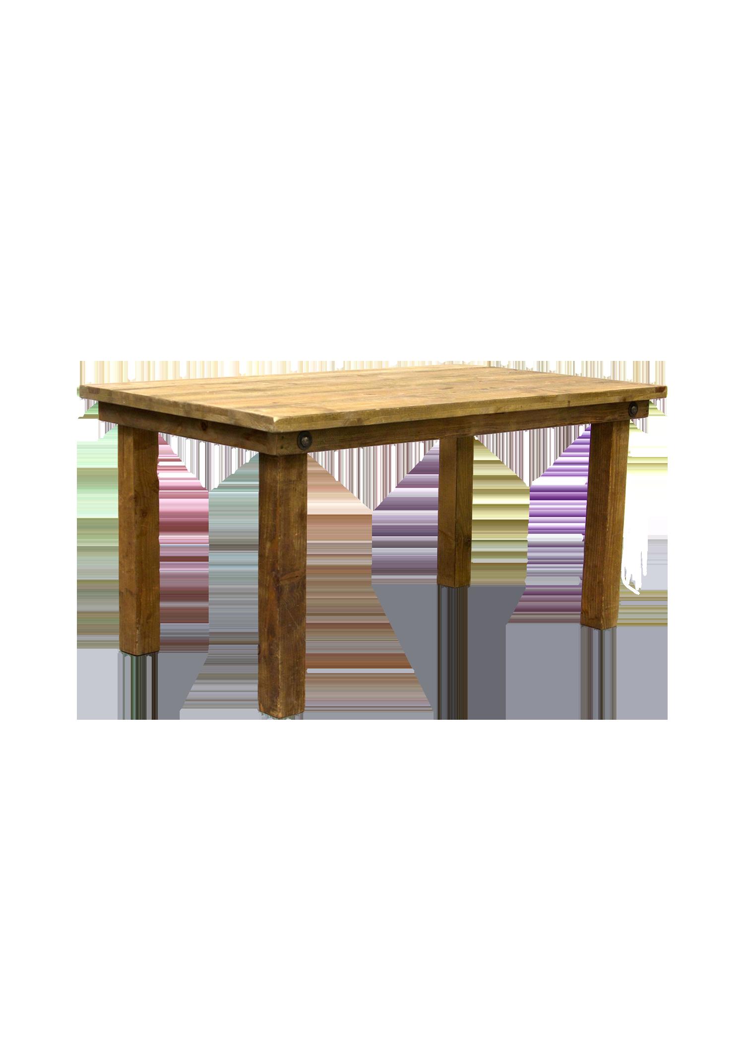 Honey Brown 5ft Table