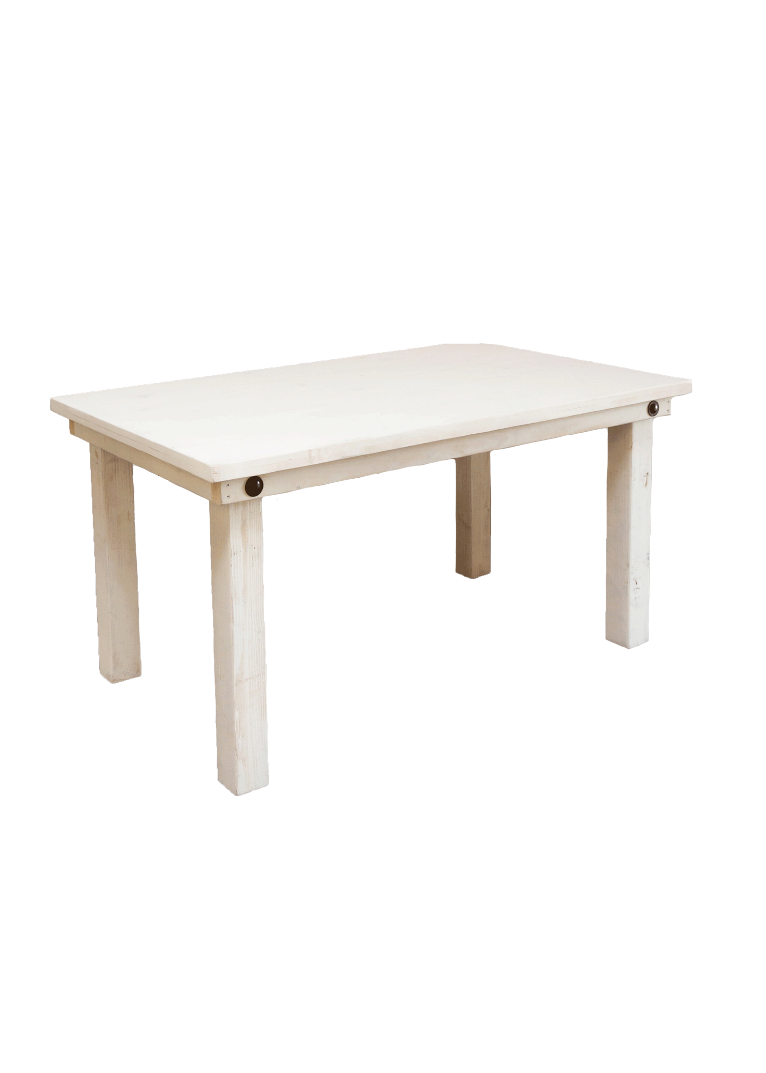 Vintage White 5ft Table