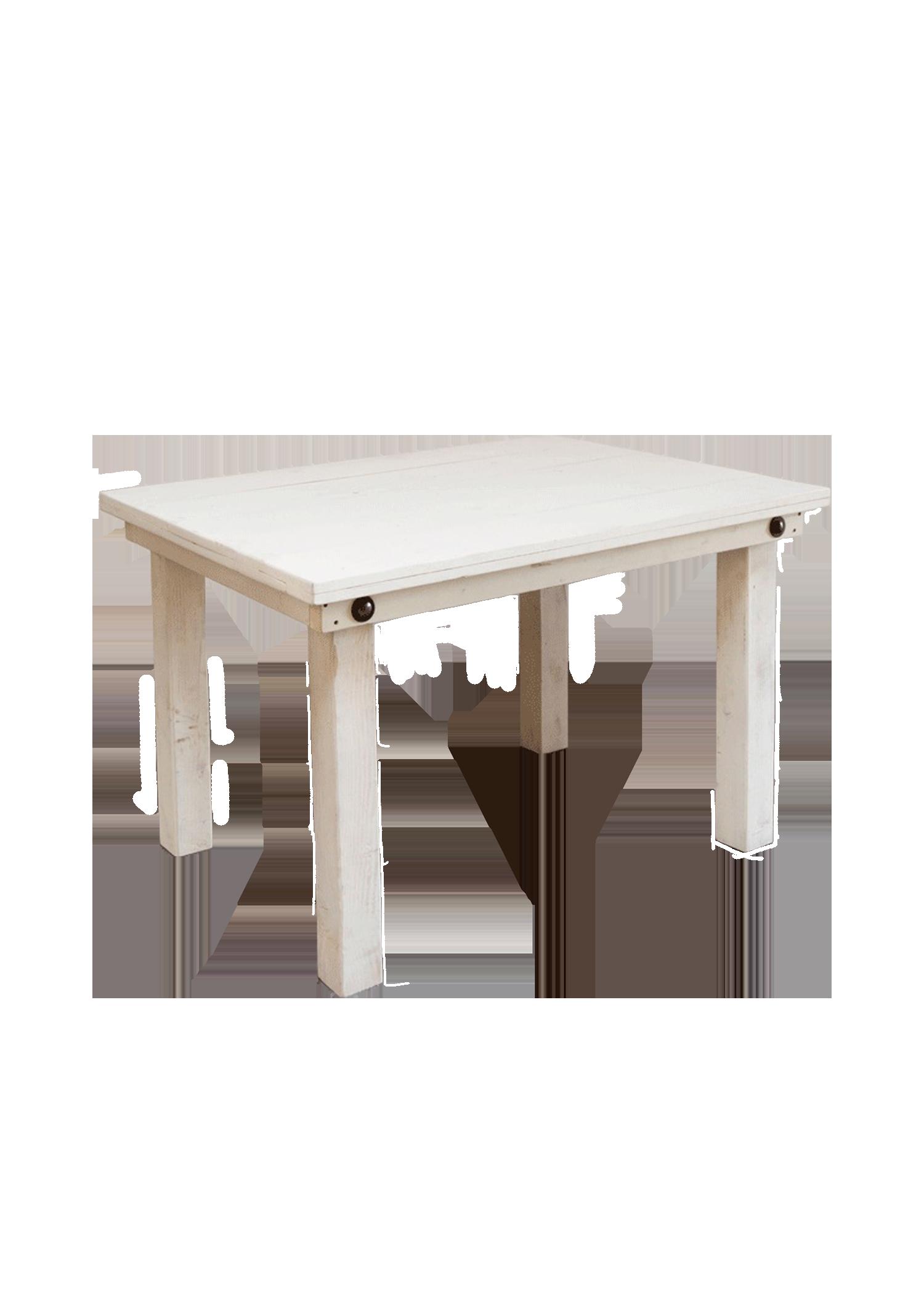 Vintage White 4ft Table