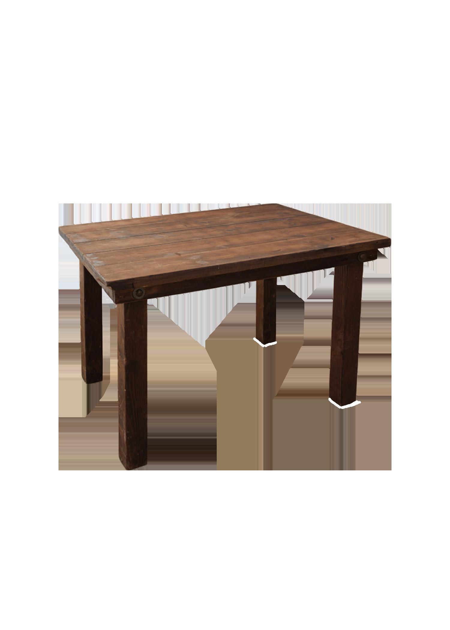 Mahogany 4ft Table