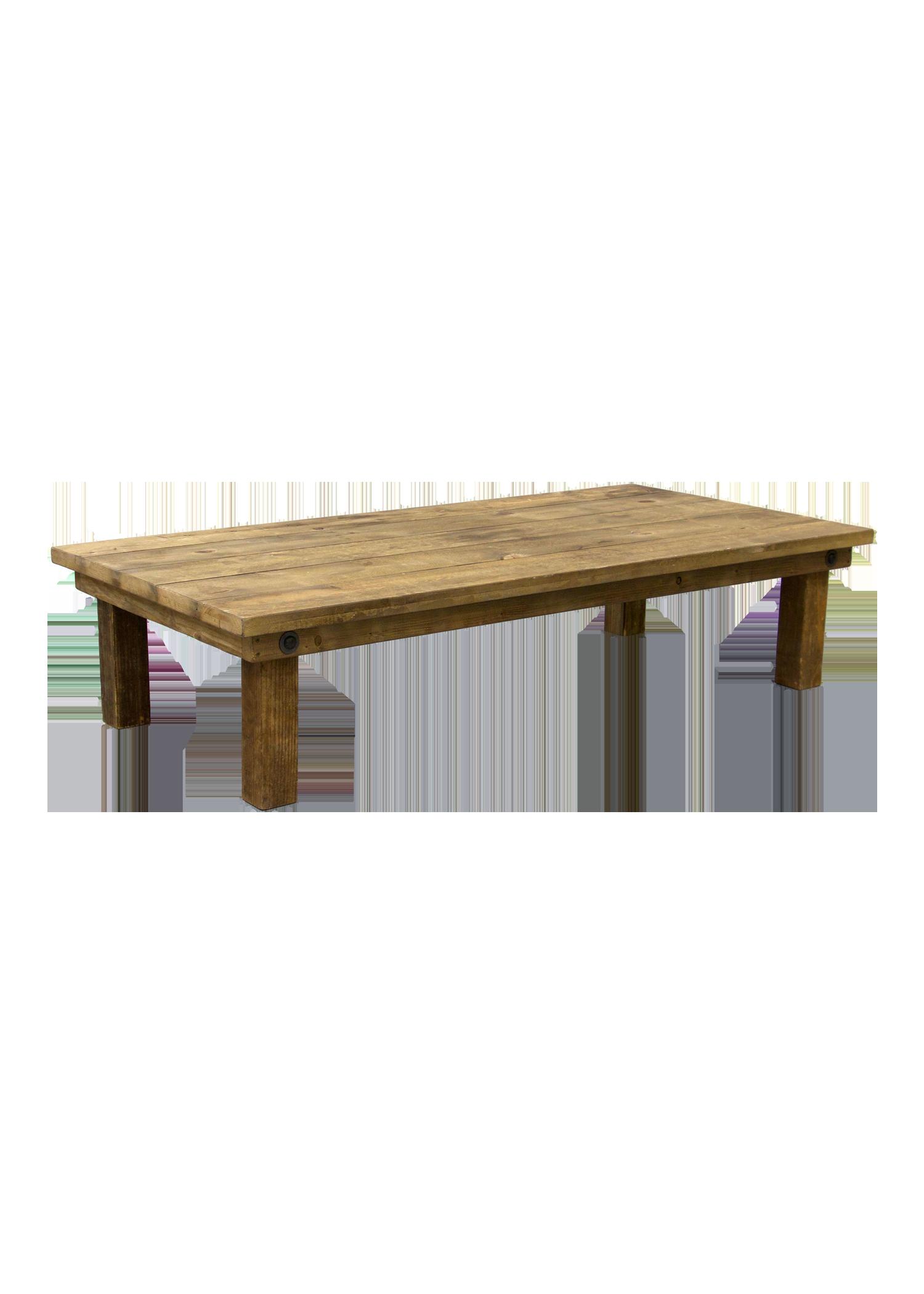 Honey Brown 6ft Boho Table