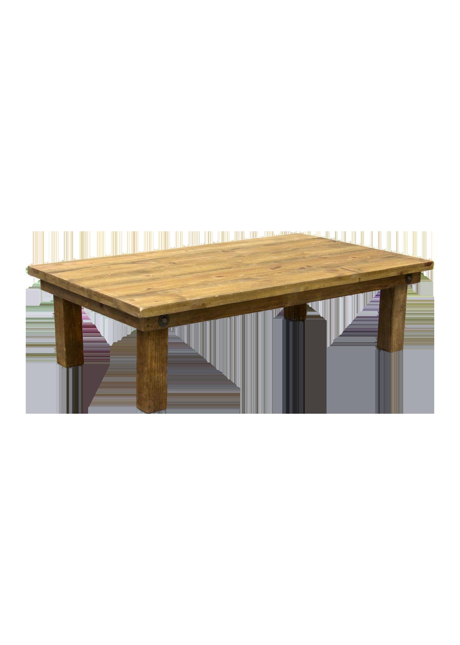 Honey Brown 5ft Boho Table