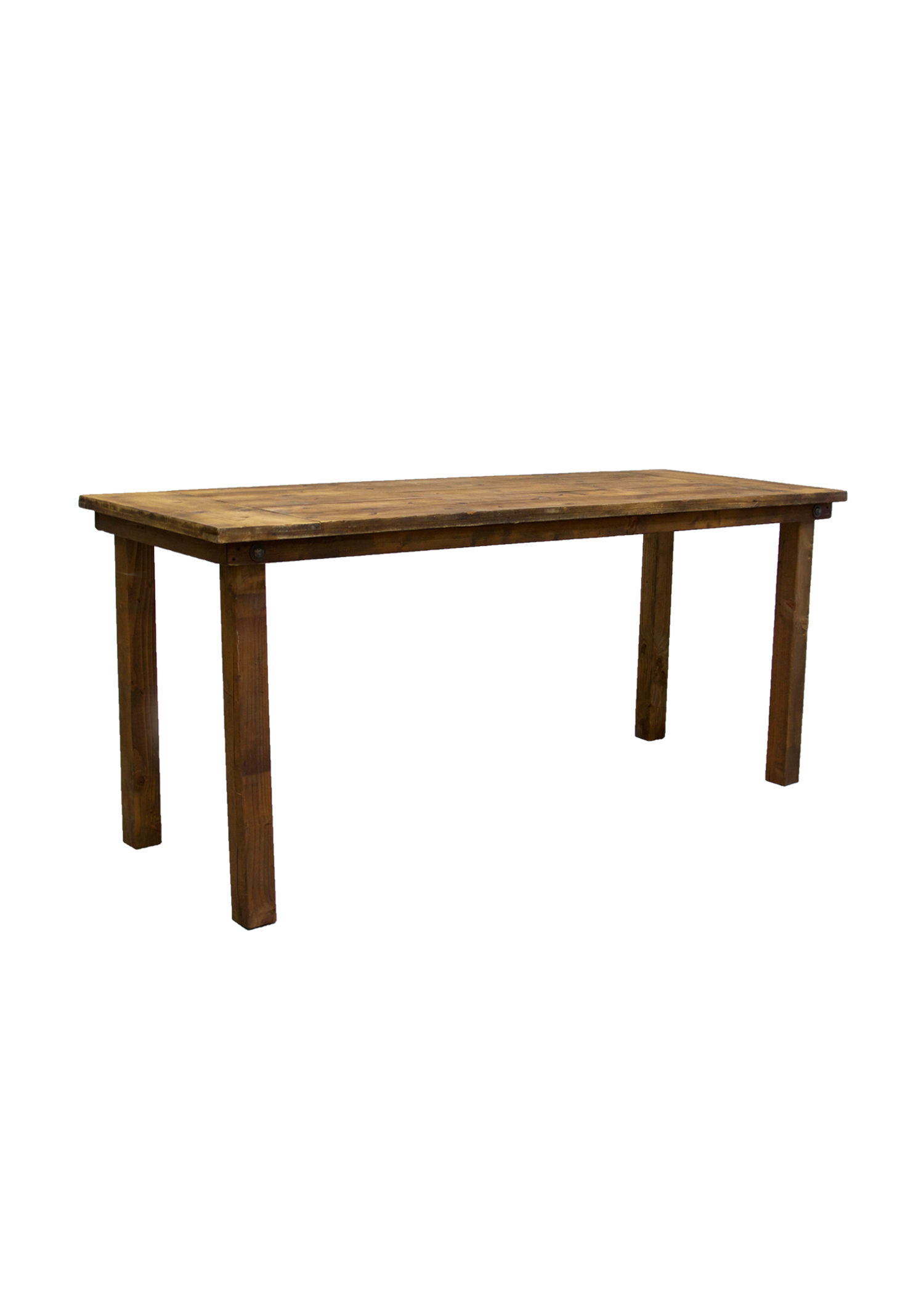 Honey Brown 8ft Belly Height Table