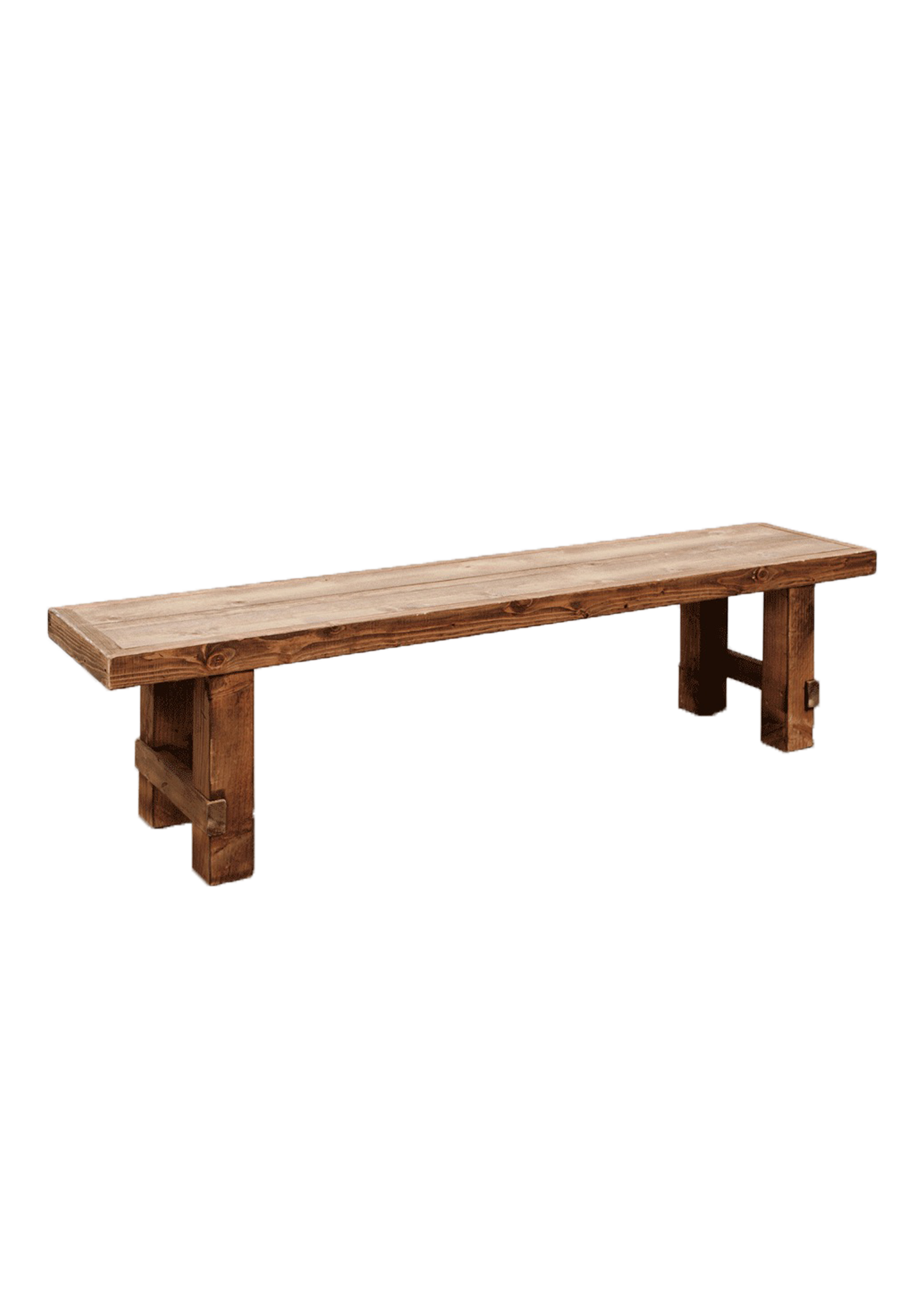 Honey Brown Long Bench