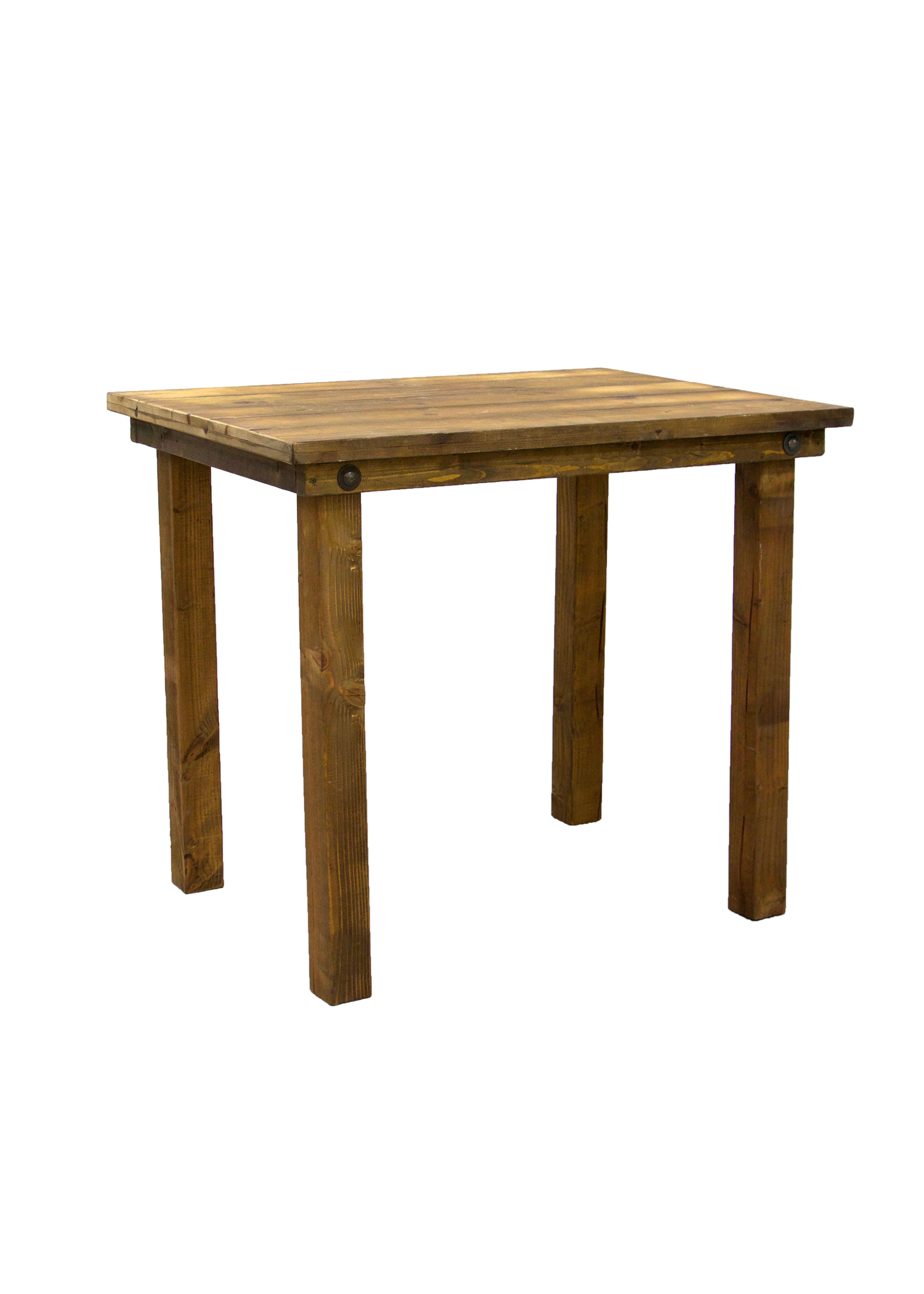 Honey Brown 4ft x 4ft Square Belly Table