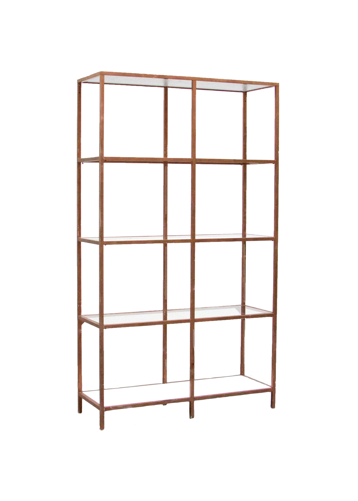 Rose Gold Shelves