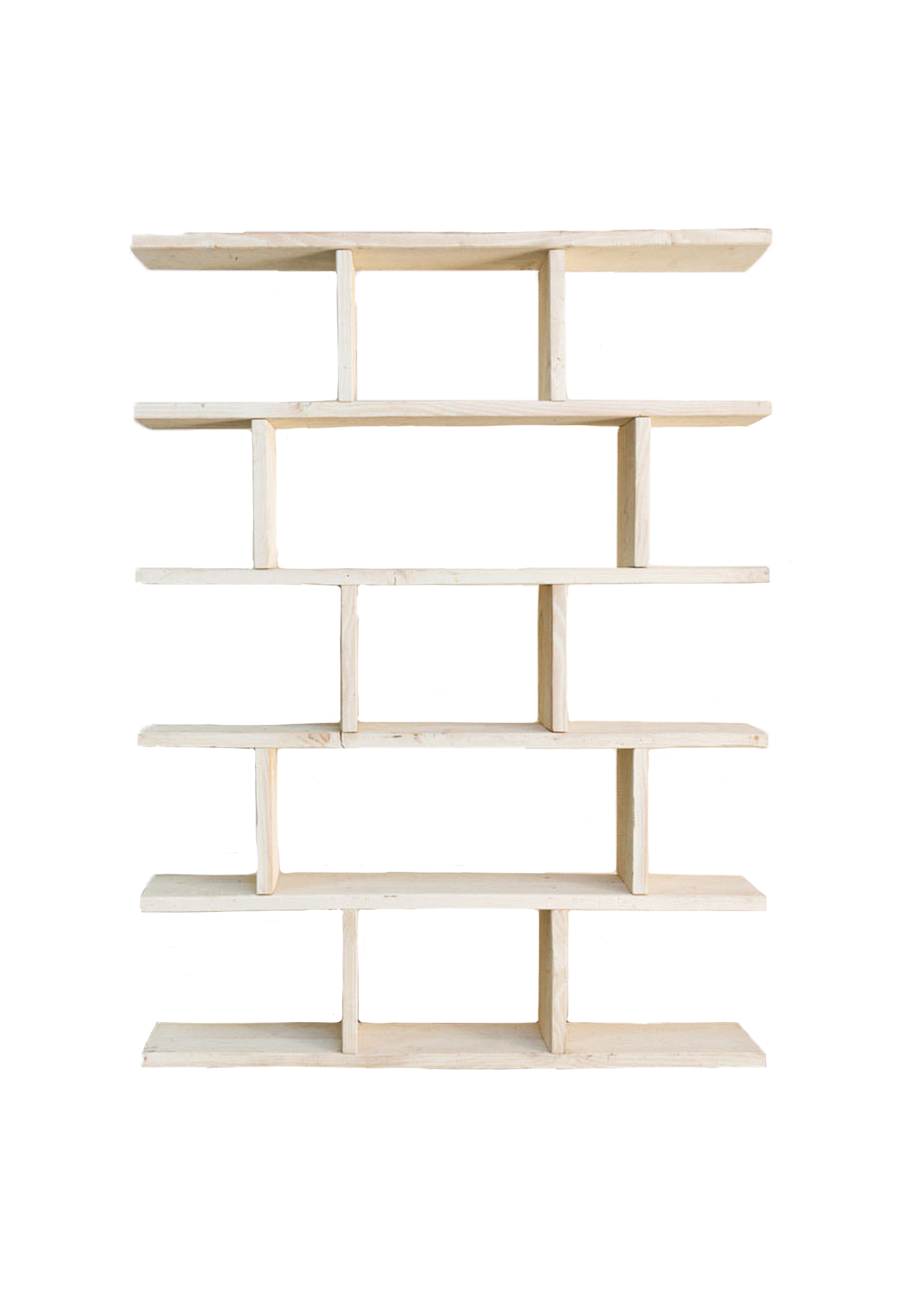 White Wooden Shelves