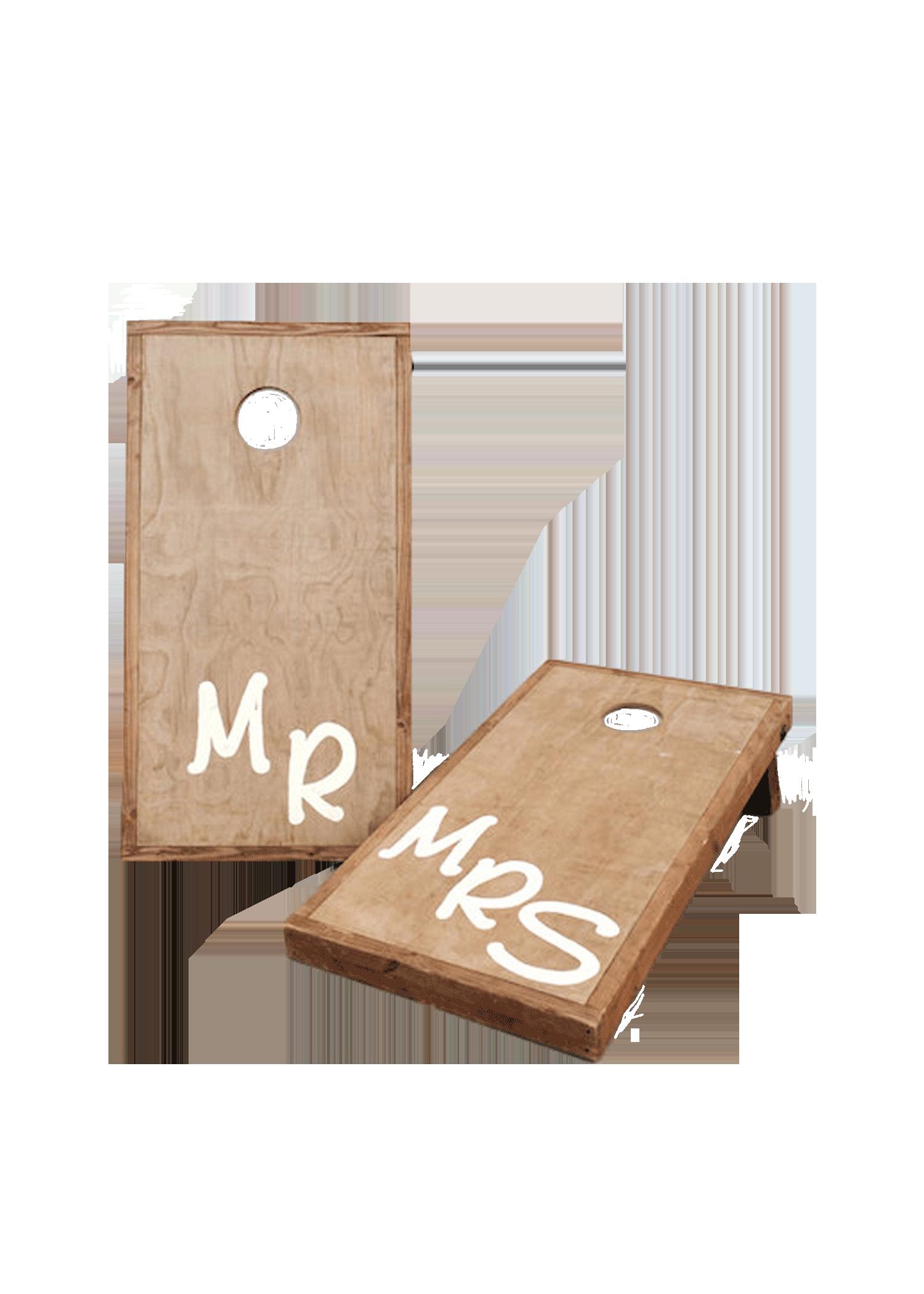 Mr & Mrs Cornhole