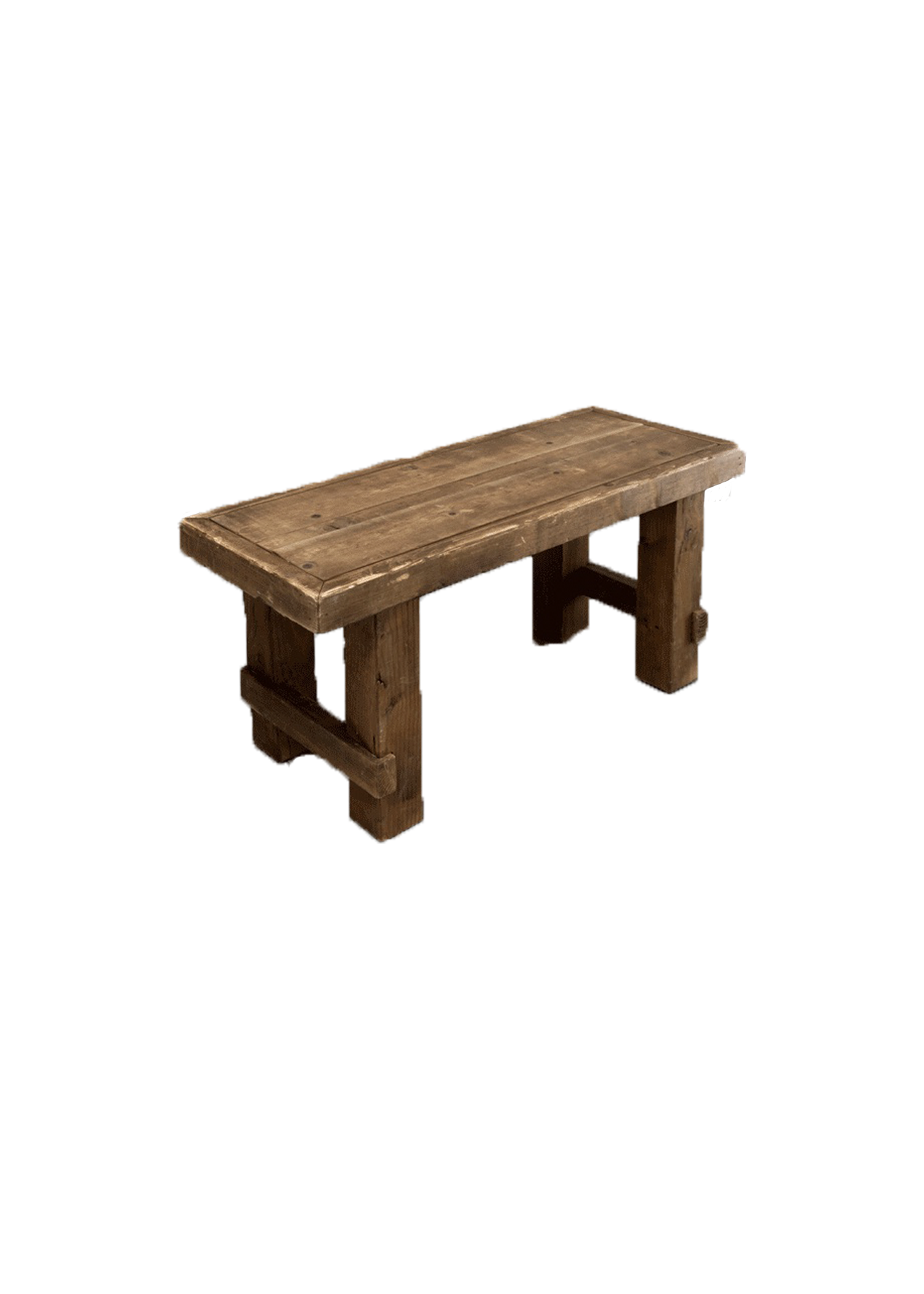 Honey Brown Short Bench