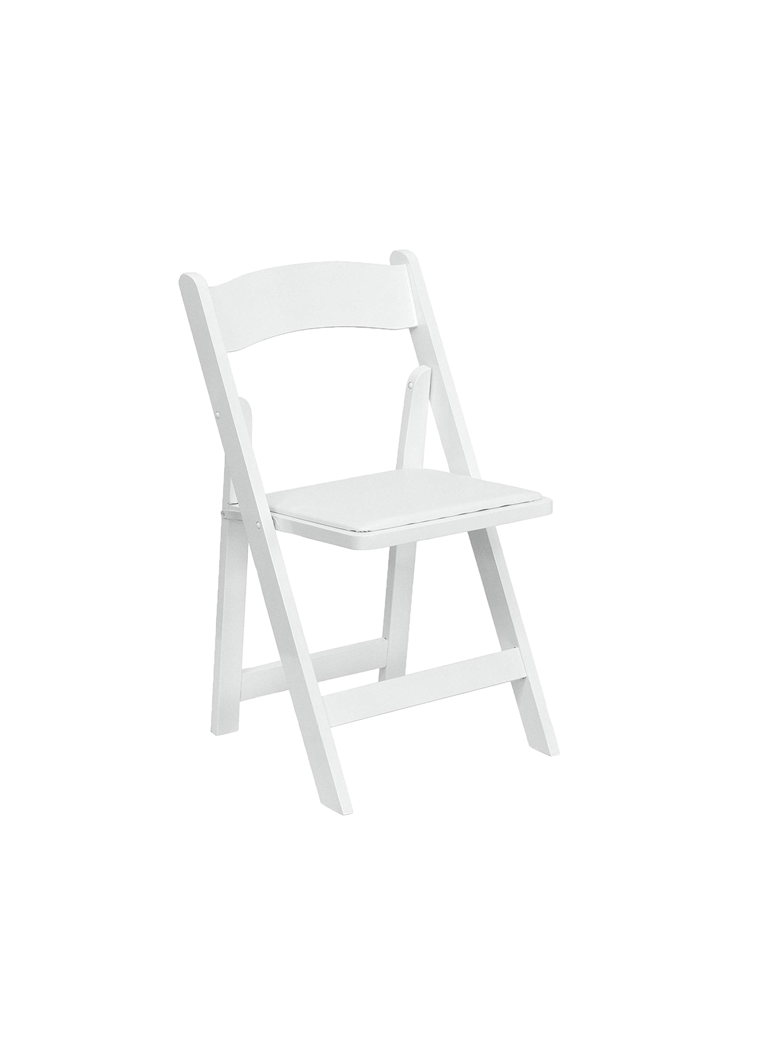 White Folding Chair *Available in Fall 2019