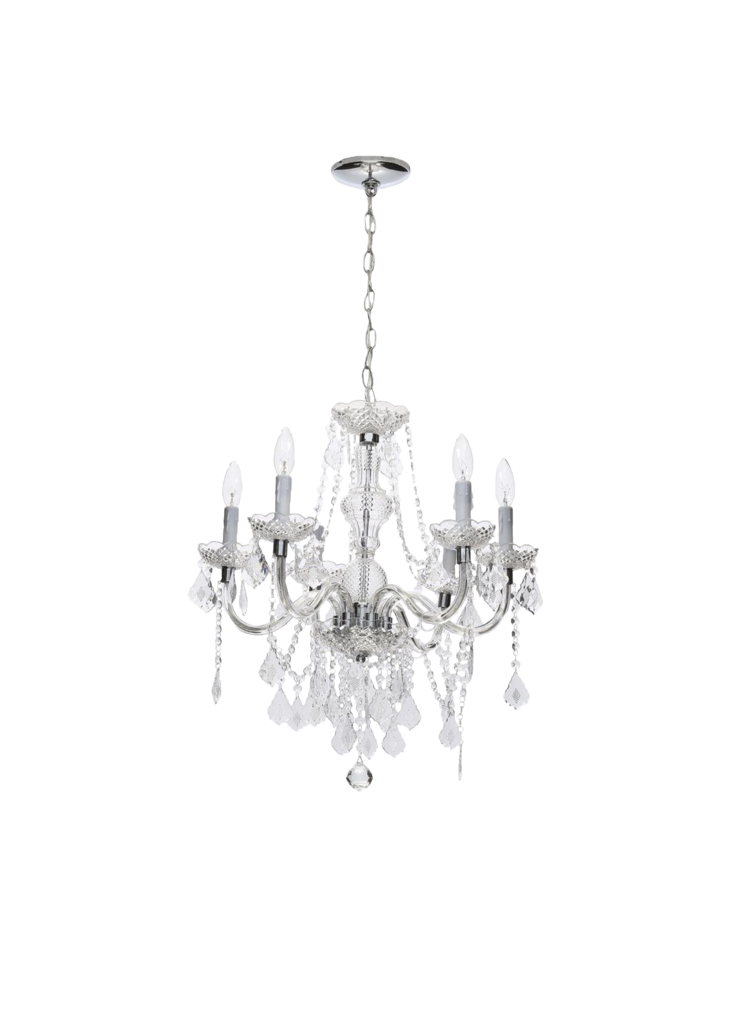 Large Faux Chandelier