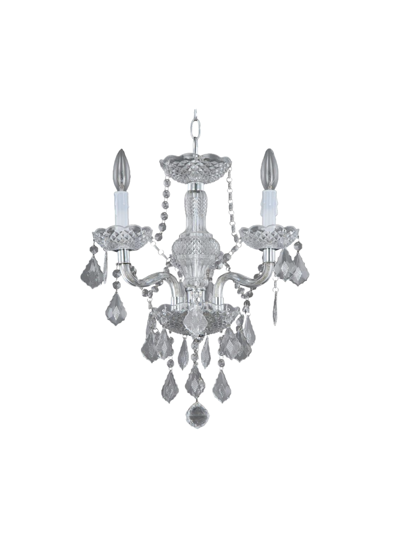 Small Faux Chandelier