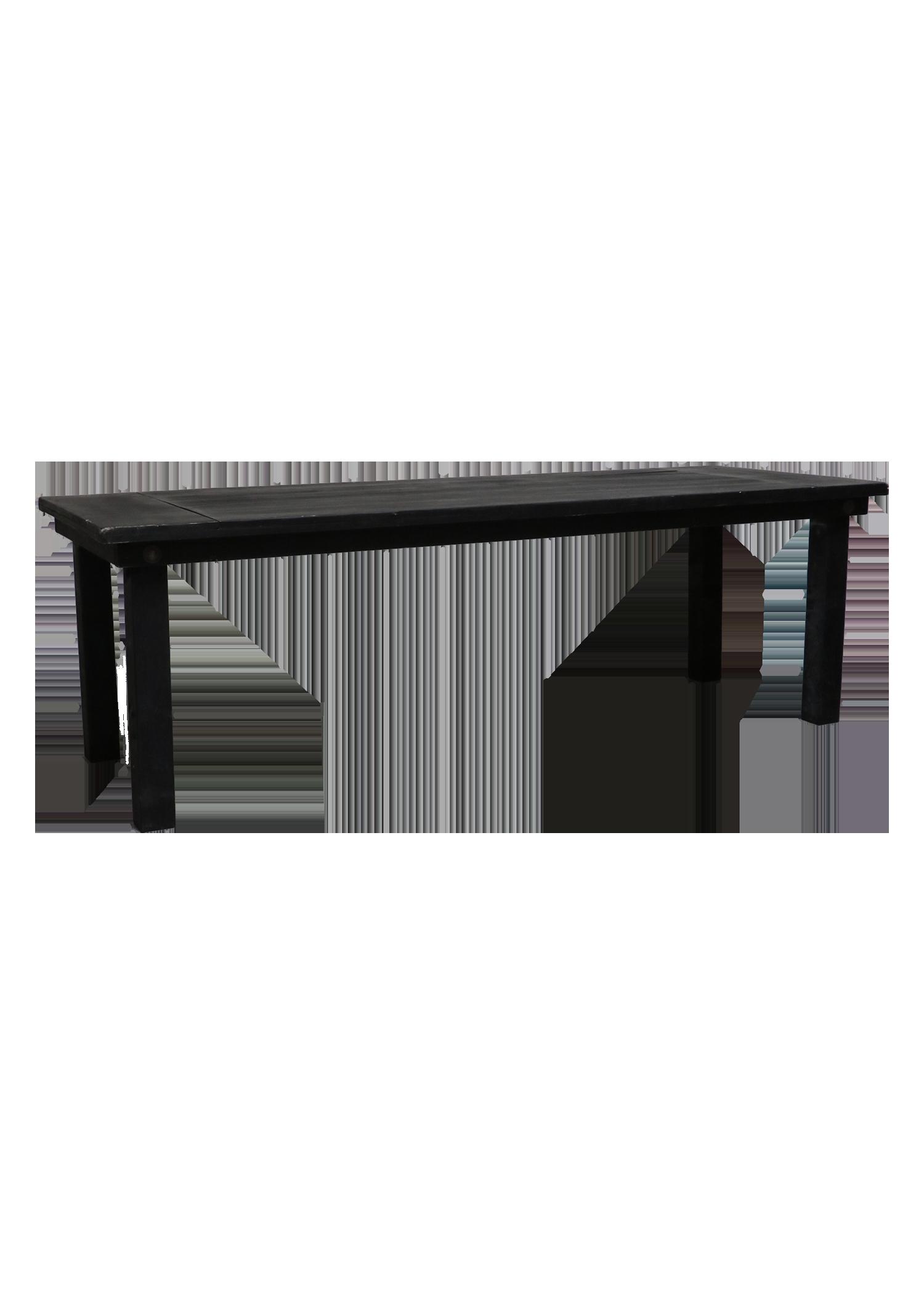 Charcoal 8ft Farm Table