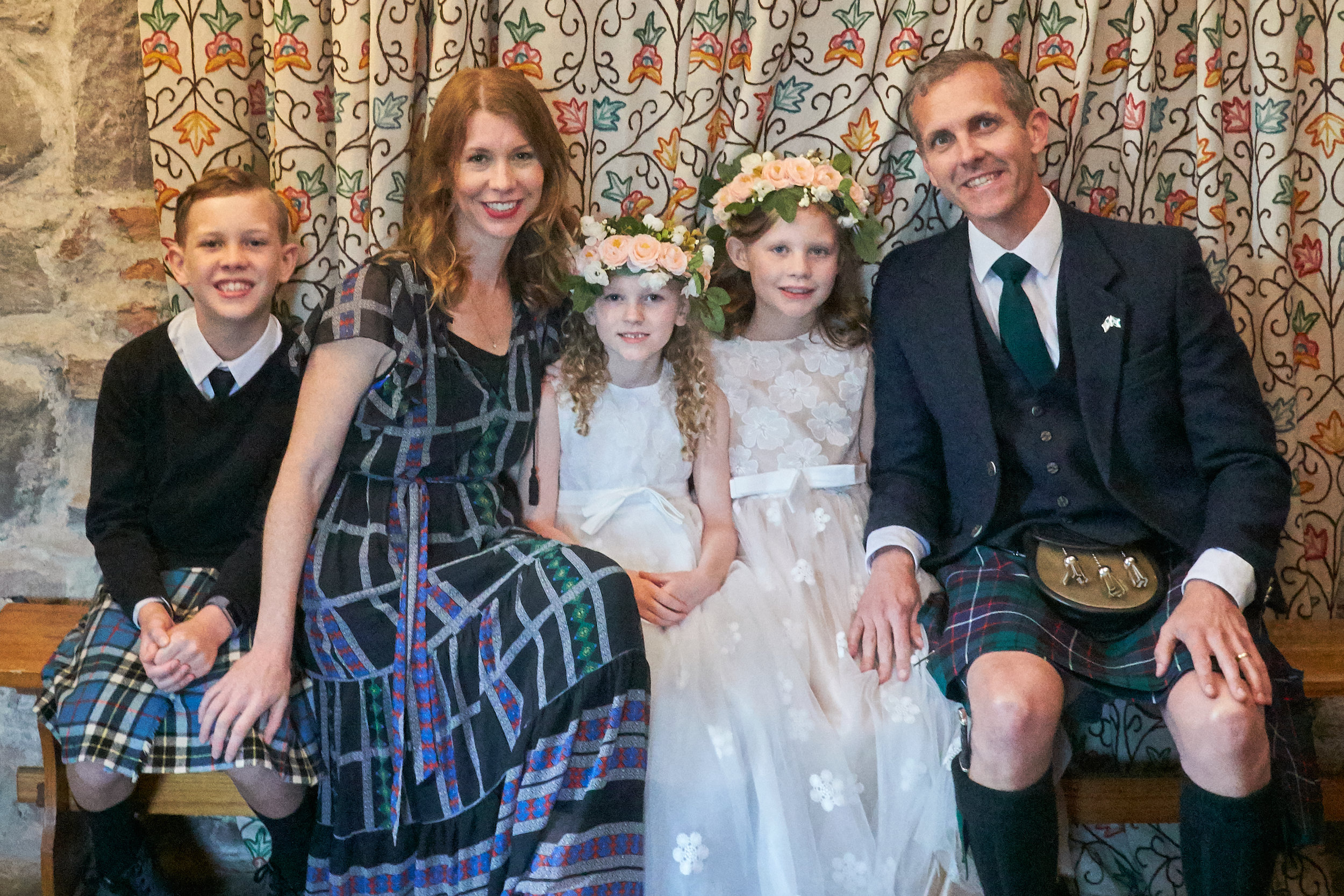 Team Overstreet enjoyed our once-in-a-lifetime opportunity to participate in a proper Scottish Wedding this year.