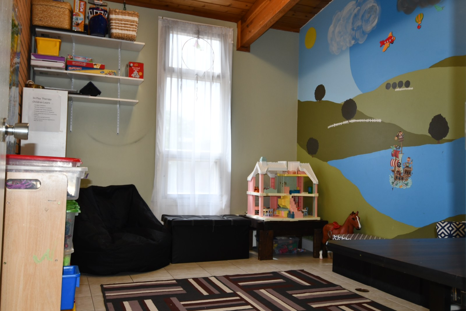 Therapeutic play area