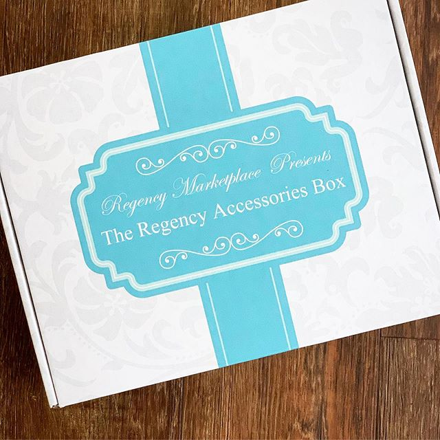 We're delighted to have this week's giveaway sponsored by Regency Marketplace!  They are a wonderful business to work with, and they have sent us this gorgeous Regency Accessories Box for one lucky winner.  To see the box up close, visit this page: https://regencymarketplace.com/products/the-regency-accessories-box  TO ENTER THE GIVEAWAY, PLEASE DO THE FOLLOWING:  Visit Regency Marketplace's website and take a look around. regencymarketplace.com  Then, leave a comment below, and tell us what your favorite item is in their store!  Next, follow Regency Marketplace here on Instagram @regencymarketplace and tag a friend on one of their posts. Be sure to mention to them what you love about the shop!  Finally, if you are on Facebook, like Regency Marketplace's page https://www.facebook.com/regencyperiod/  All ENTRIES must be received by Tuesday, September 24, 2019 by 11:59pm. Winner will be chosen at random and will be announced on Wednesday, September 25, 2019.